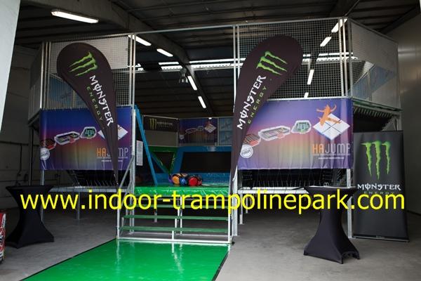 indoor trampoline park in france cournon d 39 auvergne opens in april 2015 hajump trampolines. Black Bedroom Furniture Sets. Home Design Ideas